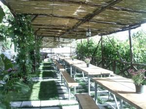 Fuocomuorto, il wine garden
