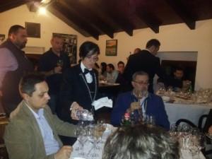 Gli ospiti in sala con Simone Della Porta e Giuseppe Schisano