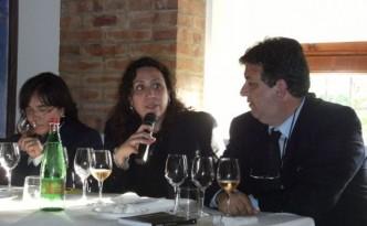 Maria Sarnataro, Chiara Giovoni e Luciano Pignataro