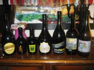 le birre della serata – foto di Enrico Malgi