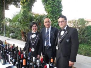 Enzo Di Donna con Rossano Laiacona – foto di Novella Talamo