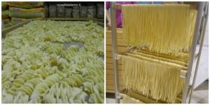 Gragnano in Corsa, la pasta nel laboratorio di produzione