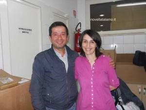 Vincenzo Petrone e Filomena Sorrentino