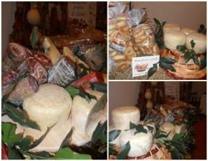 Vitigno & Terroir, alcuni dei prodotti in esposizione e degustazione