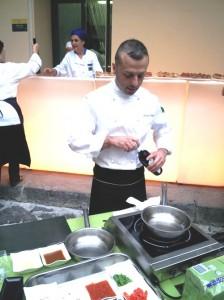 Lorenzo Cuomo alla recente presentazione di Extra Chef