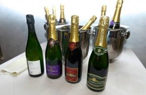i quattro Champagne in degustazione