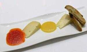 il Carciocacio abbinato a una mostarda piccante e al miele millefiori