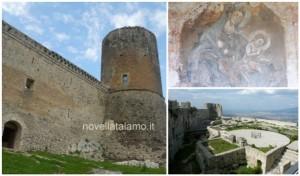 il castello di Lettere e l'affresco della Madonna del Soccorso