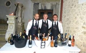 Da sinistra: Tomas Torsiello, Vincenzo Isoldi e Giuseppe Lupo