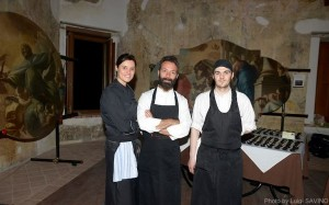 Giuseppe Misuriello (al centro)