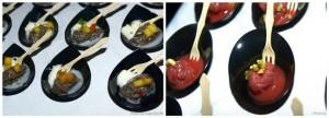 il finger food di Giuseppe Misuriello