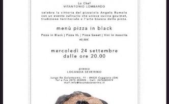 Night in Black alla Locanda Severino