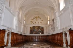Certosa di San Lorenzo, il refettorio - foto tratta da www.italiavirtualtour.it