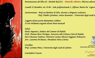 Presentazione del libro Poetiche relative di Michele Rizzo