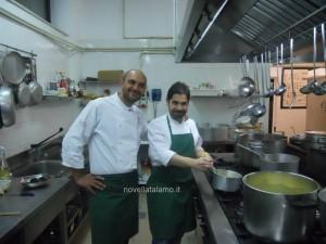 Tommaso Morone (a sinistra) con Cristian Torsiello - foto di Novella Talamo