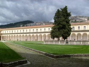 la Certosa di San Lorenzo a Padula, foto tratta da www.panoramio.com
