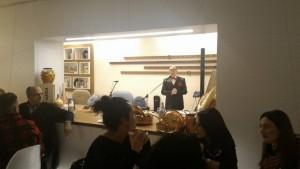Una serata in stile 'Dolce Vita' al Pari Biosteria, il prof. Eugenio Luigi Iorio