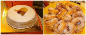 Il Natale Campano in Tavola, la cassata al forno e le zeppole di Stella Ricci
