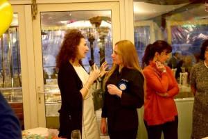 Alla tavola di Rugantino e Pulcinella, Antonella Petitti con Claudia Deb