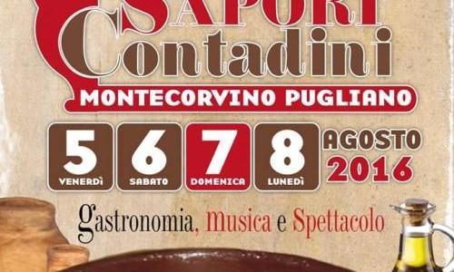 XII Sagra dei Sapori Contadini a Montecorvino Pugliano