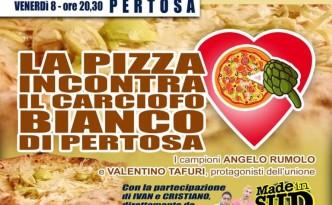 La pizza incontra il Carciofo Bianco di Pertosa