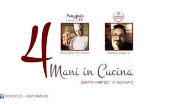 4 Mani in Cucina con Antonio Petrone e Mario Lodato da Sorso 23