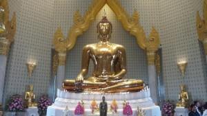 Bangkok, il Buddha d'oro – foto di Novella Talamo