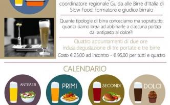 Birra in Tavola al ristorante Agliara di Battipaglia