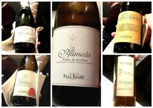 4 Mani in Cucina, i vini di Villa Raiano