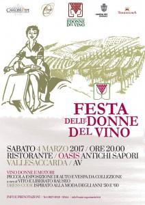 La Festa delle Donne del Vino all'Oasis Antichi Sapori di Vallesaccarda