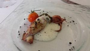 Arte & Gusto, calamaretto ripieno di scarola