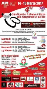 il quarto campionato italiano di pizza alla mozzarella di bufala