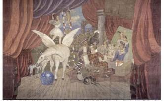 Pablo Picasso, Sipario per il balletto Parade
