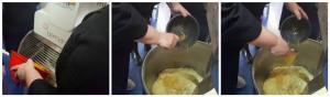 il laboratorio Slow Food sulla colomba, alcune fasi di preparazione dell'impasto
