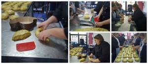 il laboratorio Slow Food sulla colomba, lo staglio e la pirlatura dell'impasto