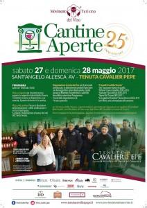 Cantine Aperte 2017 alla Tenuta Cavalier Pepe