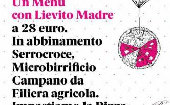 Un menu con lievito madre a cura del pizzaiolo Angelo Rumolo da Pari Biosteria