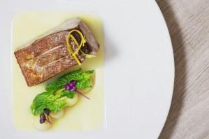 Casa Rispoli, Ricciola, patata al limone e spinacini