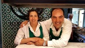 Lo Stuzzichino, Mimmo con la moglie Dora