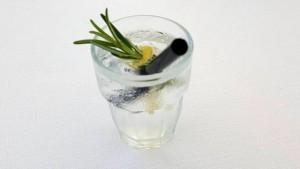 Vini…le, un drink al profumo di limone e rosmarino proposto dal bartender in abbinamento al risotto