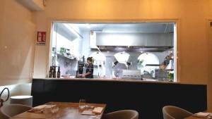 AnimaMia, la cucina a vista