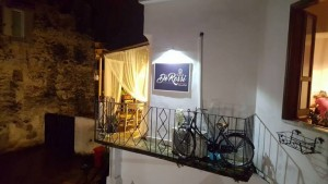 Antica Pizzeria De Rossi, il terrazzino