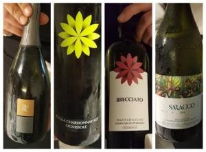 Cena a 4 mani con Tommaso Morone e Michele de Martino, i vini