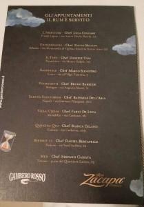 Il Rum, il calendario degli appuntamenti