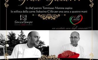 Cena a 4 mani con Tommaso Morone e Sabatino Cillo