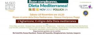 Degustazione guidata di Aglianicone al Museo Vivente della Dieta Mediterranea