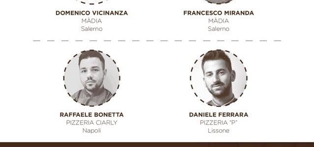 Serata di degustazione con tre giovani pizzaioli e lo chef Domenico Vicinanza alla Màdia