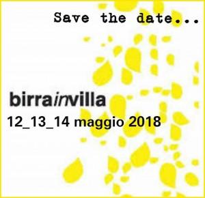 Birra in villa 2018