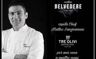 Cena a quattro mani con Matteo Sangiovanni e Silvia Funiciello alla Cantina Belvedere