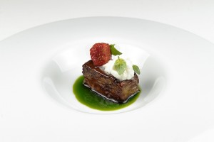 Melanzana arrosto dello chef Angelo Sabatelli - Foto di Donato Gasparro.